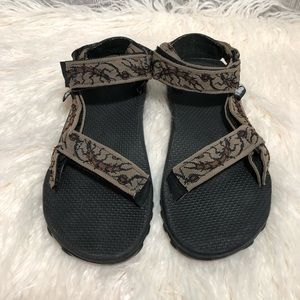 Teva Rugged Multi Colored Patterned Strappy Sandal